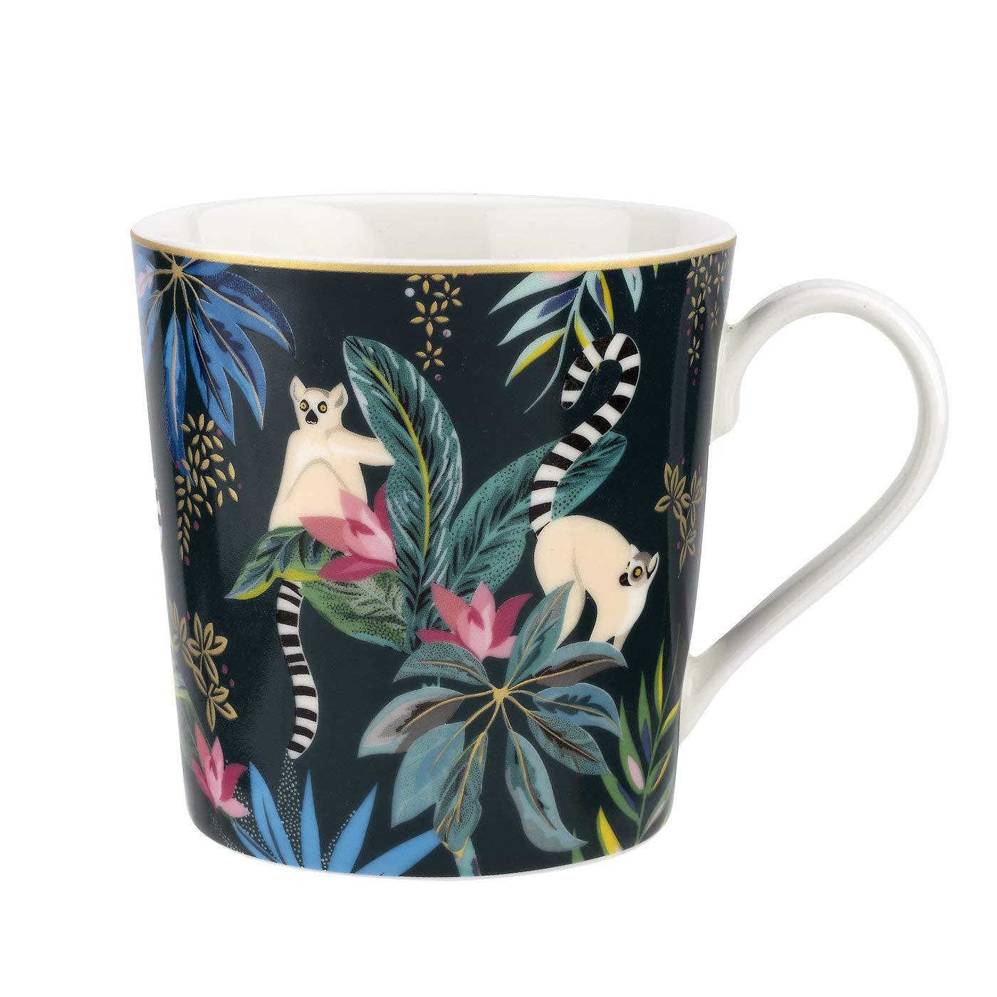 Sara Miller Tahiti Mug, Lemur Portmeirion 686458