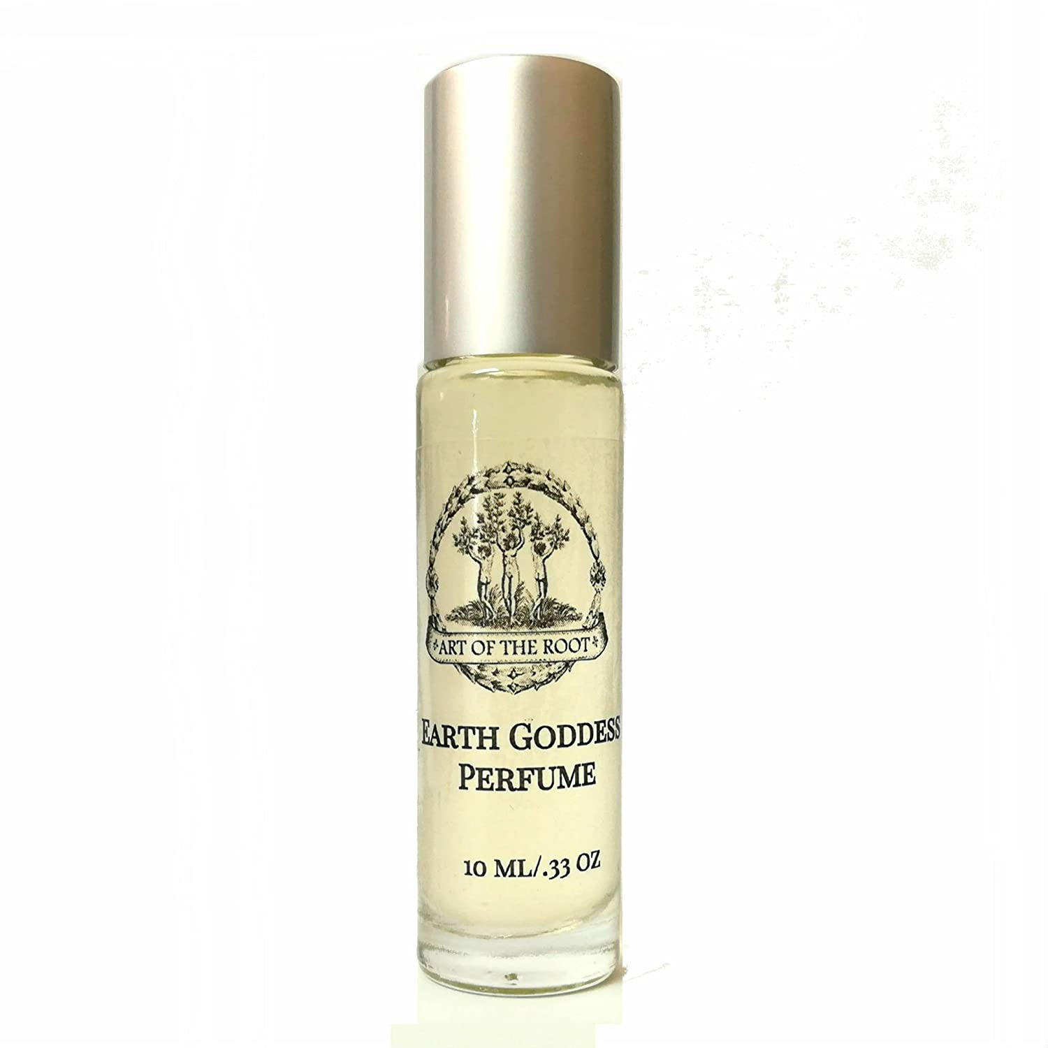 Earth Goddess Roll-On Perfume Oil 1/3 oz for Prosperity, Stability, Growth and Grounding Energy Wiccan Pagan Hoodoo