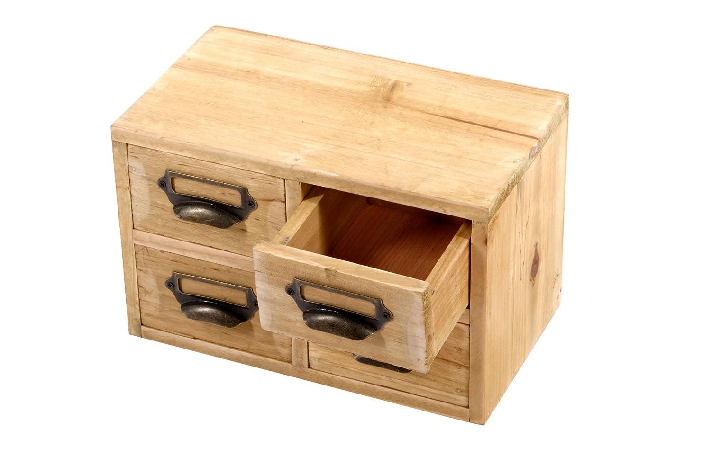 Wooden Storage Drawers Home Office Unit - 4 Drawers Amazon.co.uk DIY u0026 Tools  sc 1 st  Amazon UK & Wooden Storage Drawers Home Office Unit - 4 Drawers: Amazon.co.uk ...