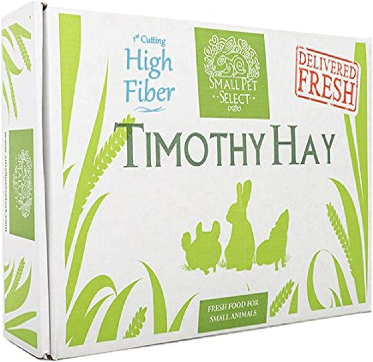 "Small Pet Select 1St Cutting ""High Fiber"" Timothy Hay Pet Food"