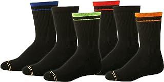 Gold Toe boys Athletic Crew Sock Six-Pack Gold Toe Boys 8-20