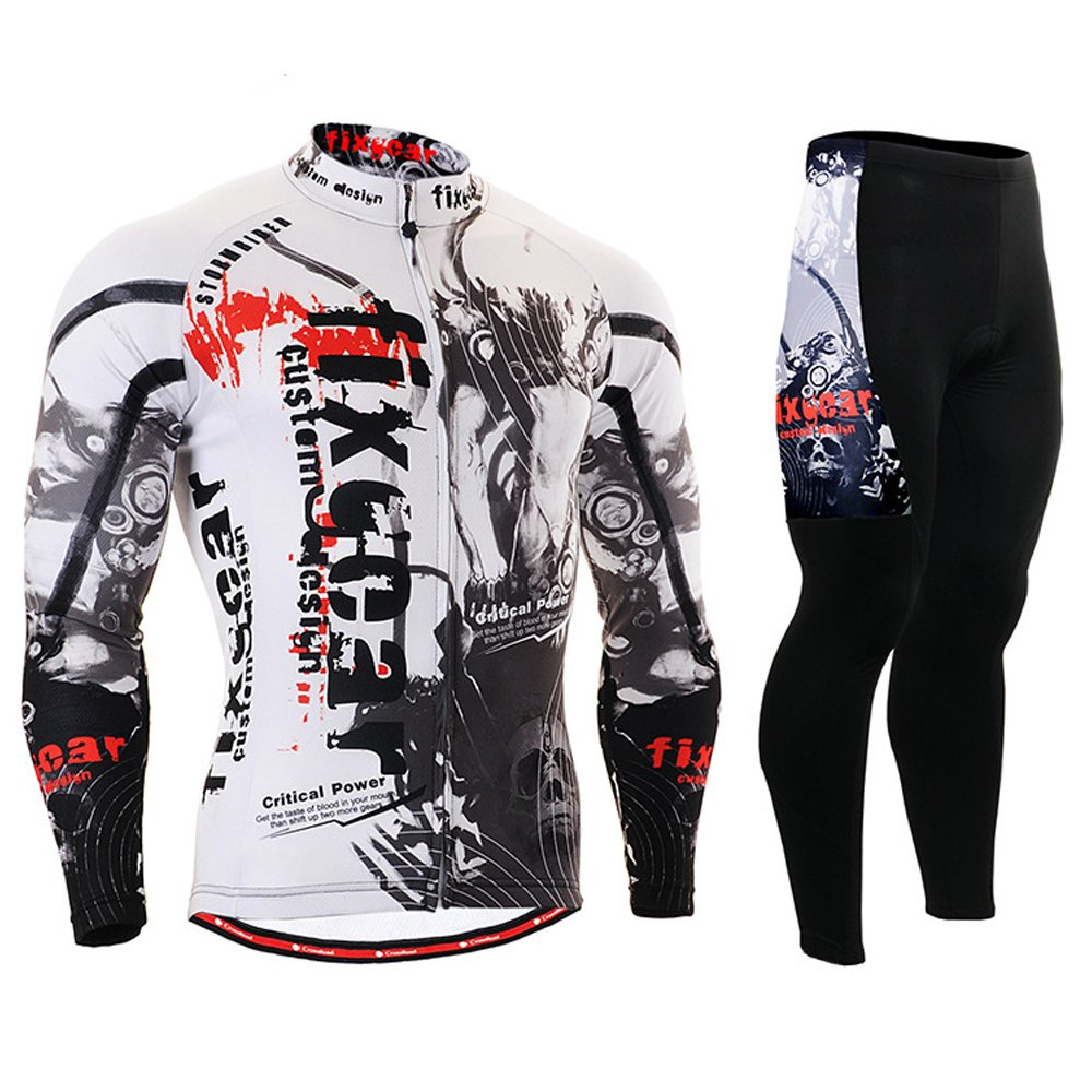 サイクリングMTB Motorcycleワークアウト圧縮SportwearスポーツスーツYours _ t _ 98 B00X7RNNKC Medium|Jersey & Pants Jersey & Pants Medium