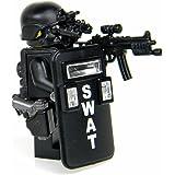 SWAT Police Officer Pointman (SKU50)- Battle Brick Custom Minifigure
