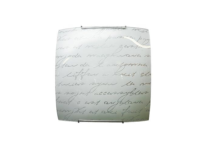 Plafoniere Con Scritte : Lucidea s r l lecce lampada da soffitto scritte con