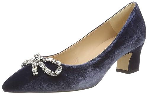 665d15d36ef LK BENNETT Women s s Annabelle Closed Toe Heels Blau (Powder Blue 143) ...