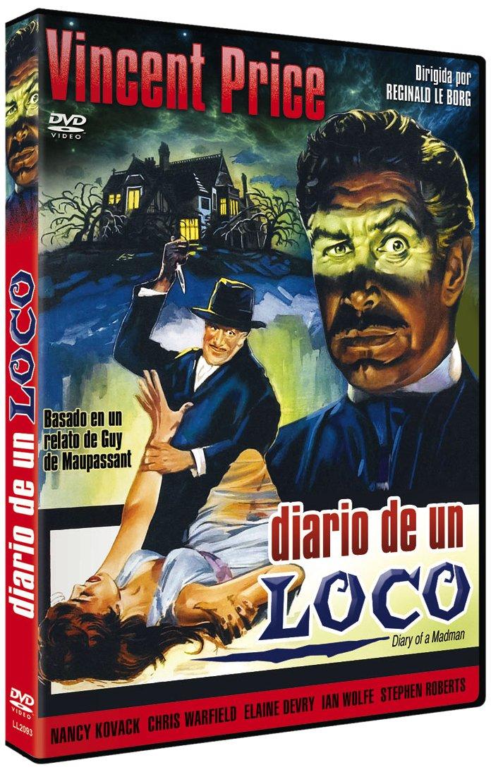 El Diario De Un Loco [DVD]: Amazon.es: Vincent Price, Nancy ...
