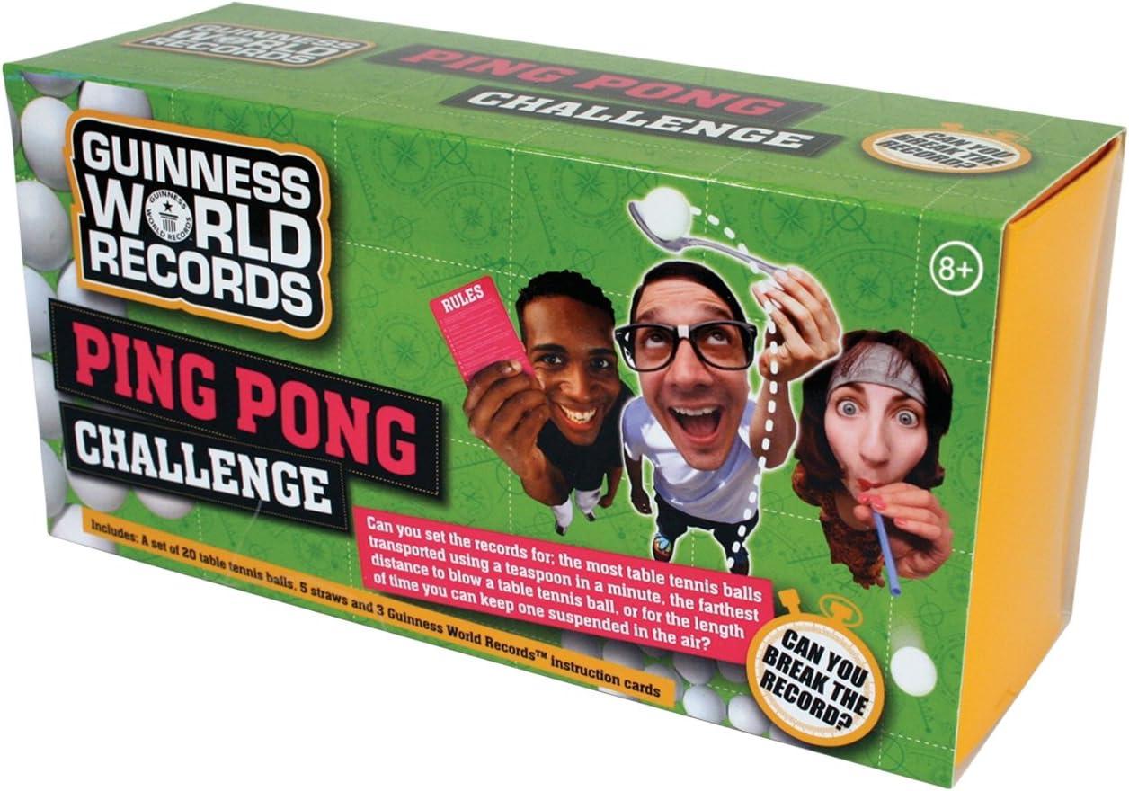 Guinness World Record Ping Pong Challenge: Amazon.es: Juguetes y juegos