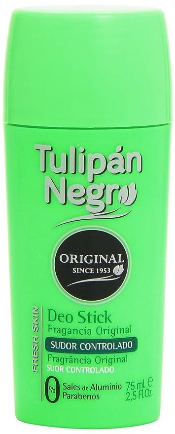 Tulipán Negro Original Sudor Controlado Desodorante en Stick - 75 ml
