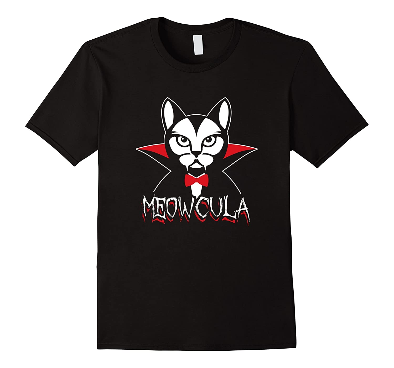 Meowcula Vampire Cat Halloween Shirt