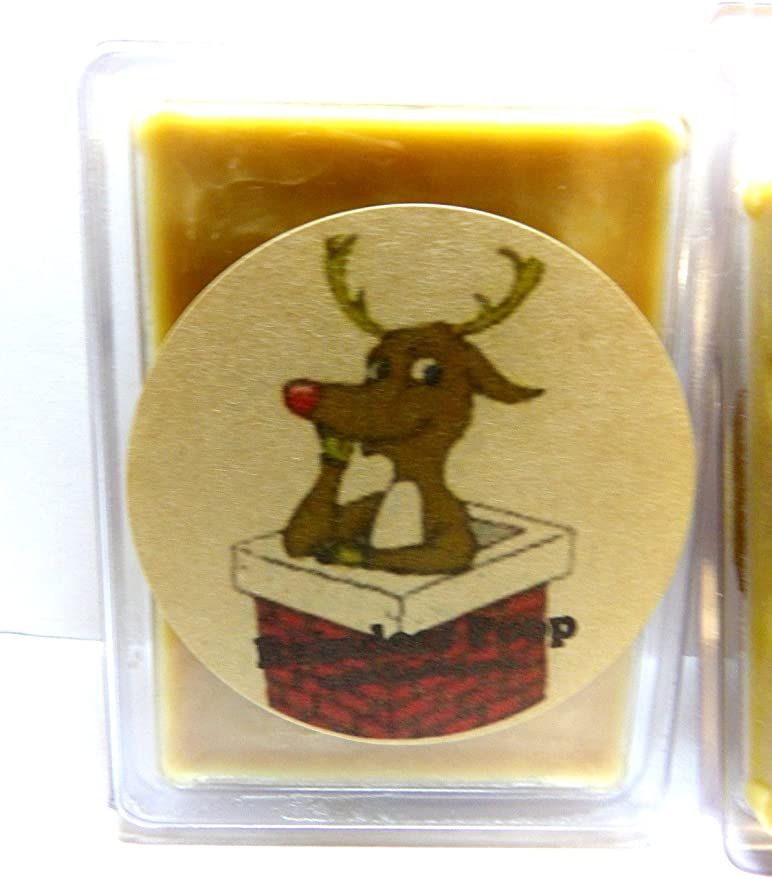 Scent Brick Reindeer Poop 3.2 Ounce Wax Tarts Wickless Candle