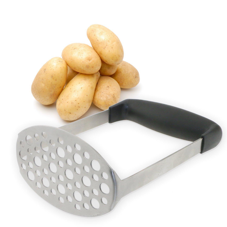 TedGem Stainless Steel Potato Masher/Ricer/Press TedGem Direct zy-Potato Masher
