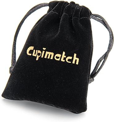 Cupimatch Girls Silver Stainless Steel Love Infinity Symbol Chain Link Bracelet C002041