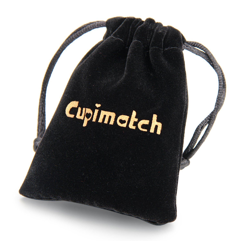 Women Adjustable Bracelet,Cupimatch Heart Drawstring Stainless Steel Charm Bracelet Link Chain 8.8 CU-MI-30
