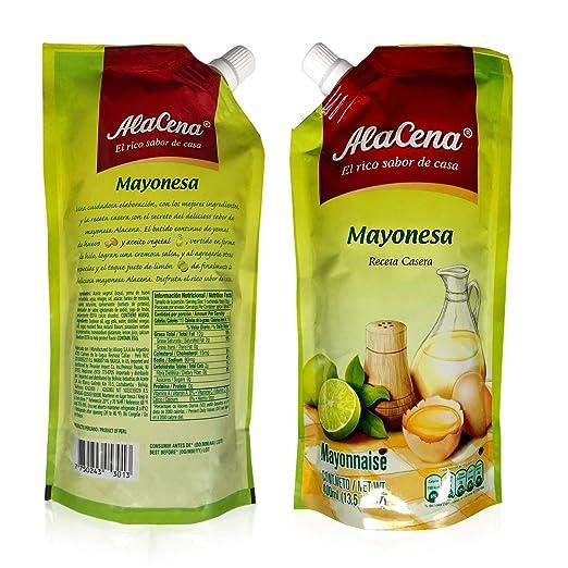 ALACENA Mayonesa (Receta Casera) Doy Pack 500 ml. (2 Pack)