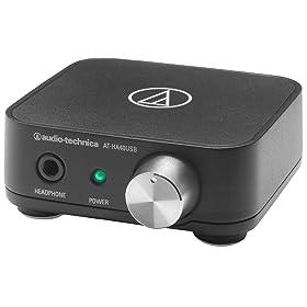 audio-technica USBヘッドホンアンプ 24bit/96kHZ対応 AT-HA40USB