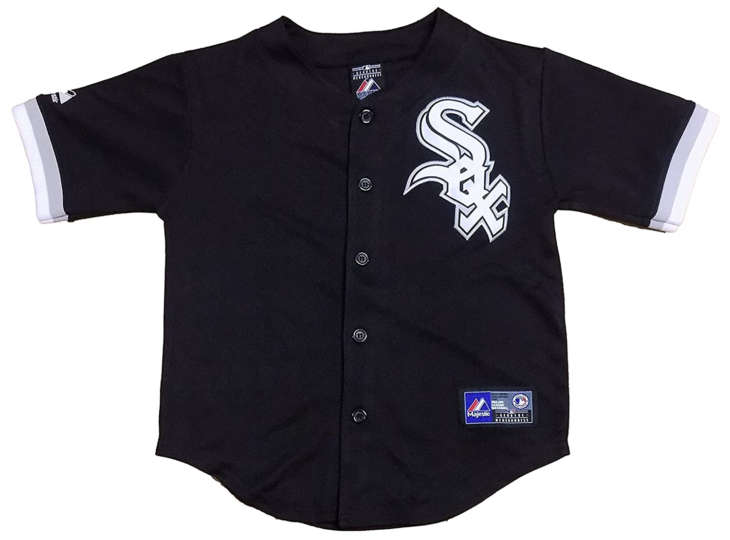 Chicago White Sox Blank Black Youth Authentic Alternate Jersey