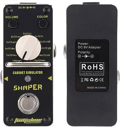 Tomsline asr-3 Shaper Gabinete Simulador guitarra eléctrica efecto ...