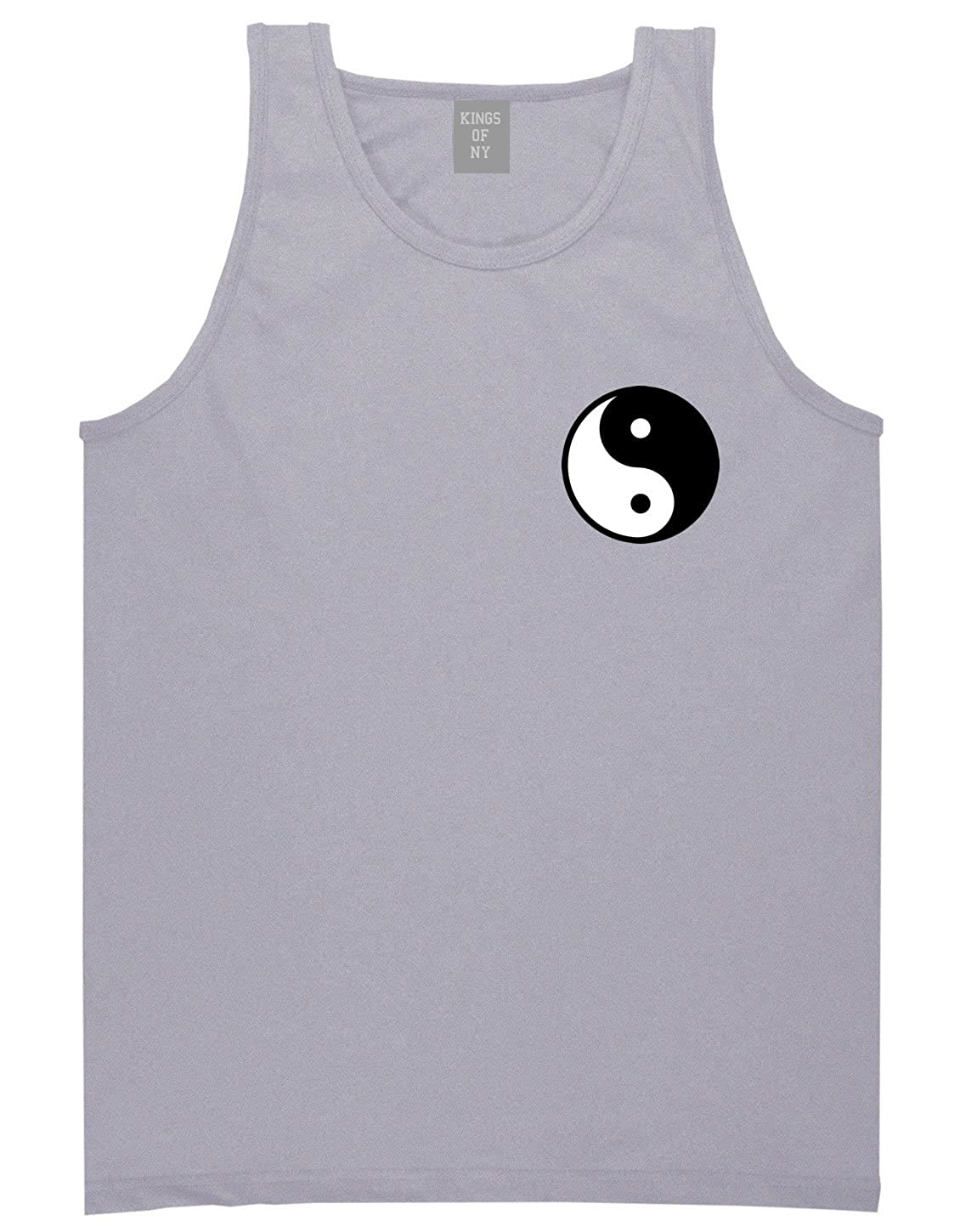 Kings Of NY Yin and Yang Chest Graphic Mens Tank Top