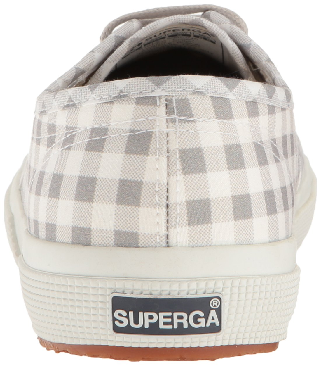 Superga Women's 2750 Gingham Sneaker B06XCJZKLF 35 M EU (5 US)|Grey
