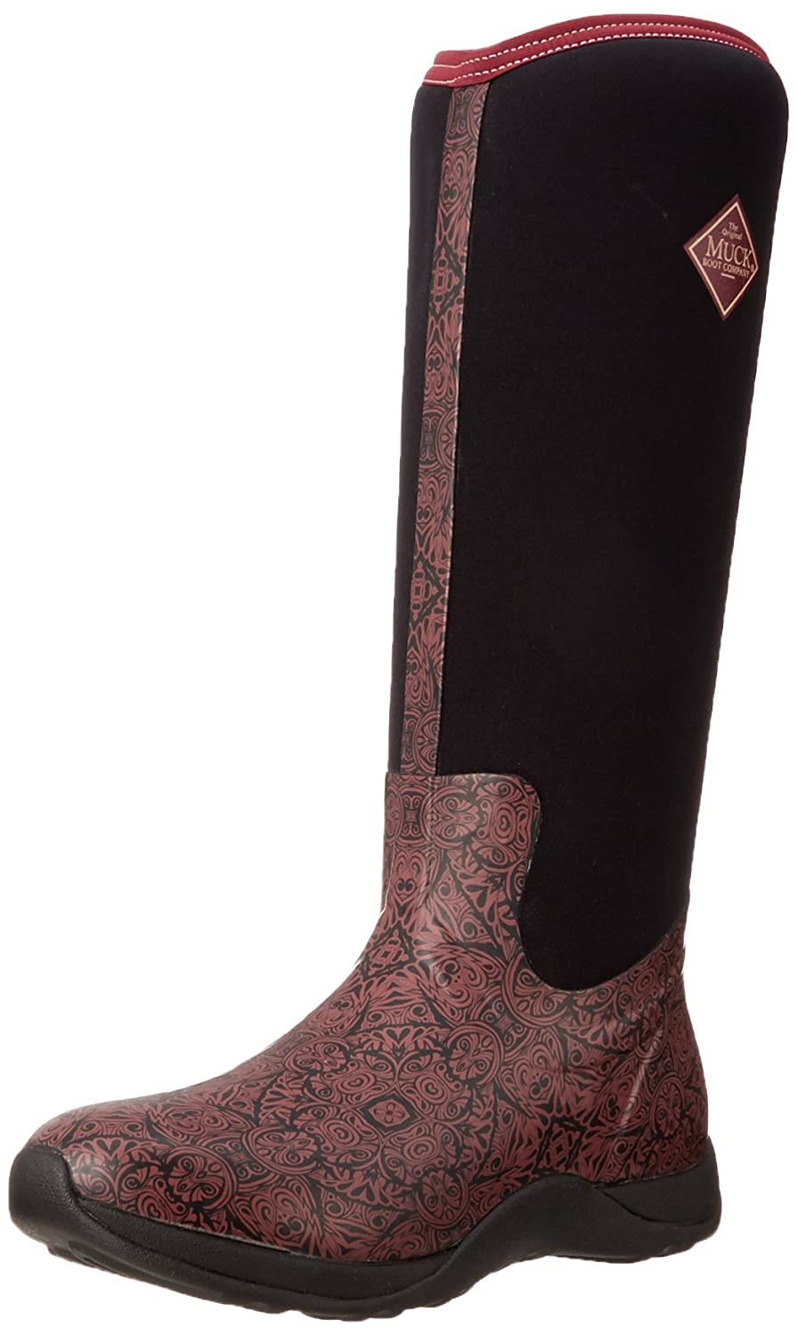 MuckBoots Women's Artic Adventure Snow Boot B00IHWA9E0 6 W US|Maroon/Aztec