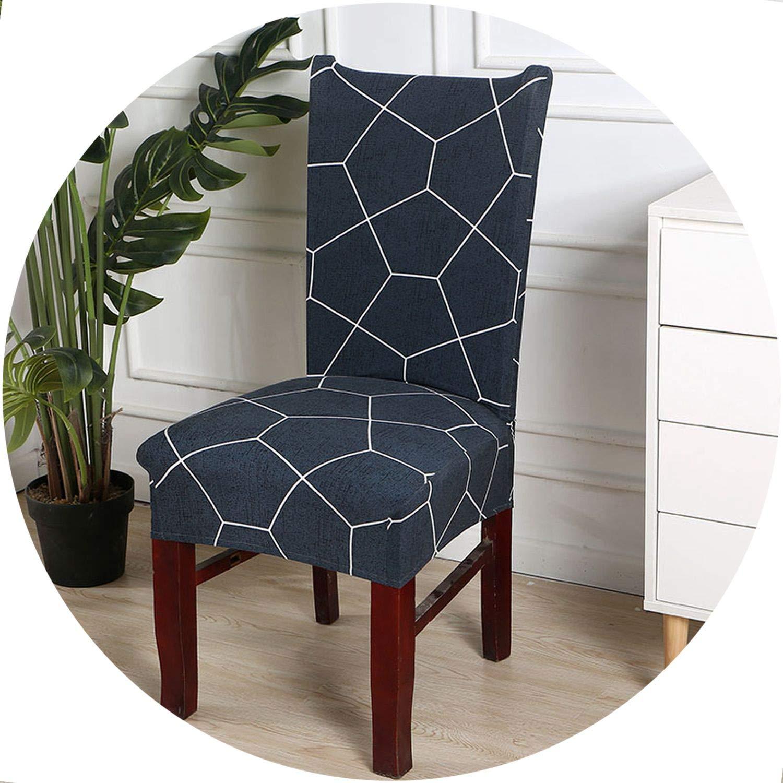 Amazon.com: better-caress 1/2/4/6 ces Fl Printing Dining Chair Covers Elastic Removable Hotel Banquet Slipcovers fundas para sillas de comedor,Cr 24,2pcs ...
