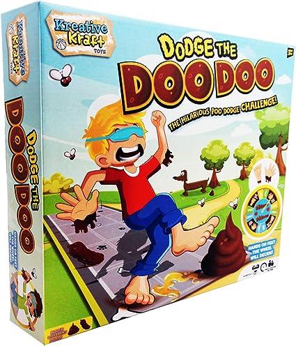 KreativeKraft Dodge The Doo Doo Juego de Mesa para Niños y Adultos ...
