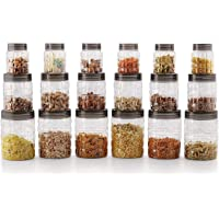 Cello Checkers PET Plastic Canister Set Jumbo,