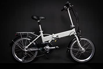 62c2f37c702331 20 quot  Zoll Alu VAUN EGON E Bike Elektro Klapp Falt Fahrrad Pedelec  Shimano 6 Gang