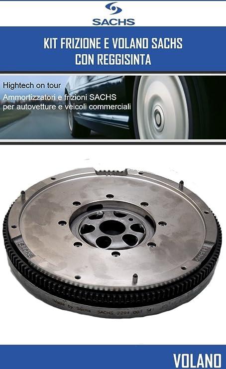 Kit Embrague y volante Sachs Seat Ibiza IV (6L1) 1.9 TDI 96 kW 131 CV: Amazon.es: Coche y moto