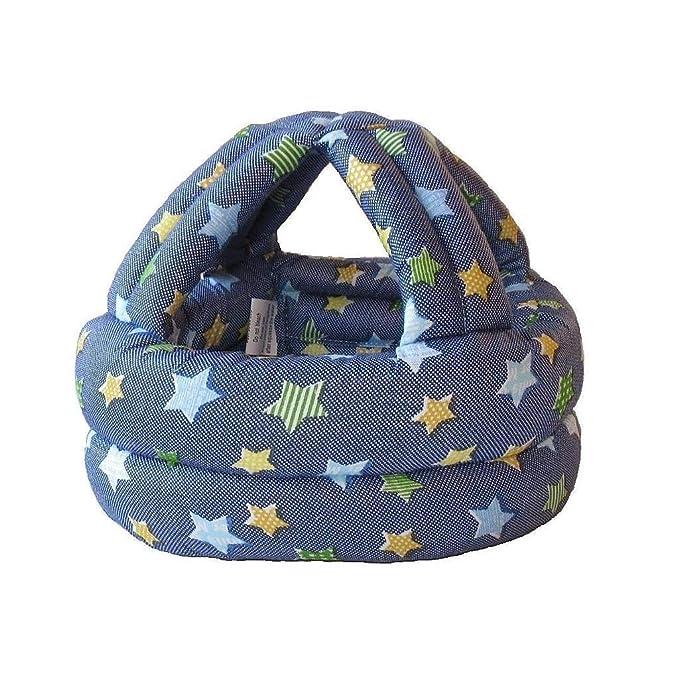 YOGOGO【ケガ防止に!】乳幼児用 スポンジヘルメット ベビー ヘルメット 【ハイハイ・よちよち歩きの赤ちゃんにぴったり♪】 (Gray)
