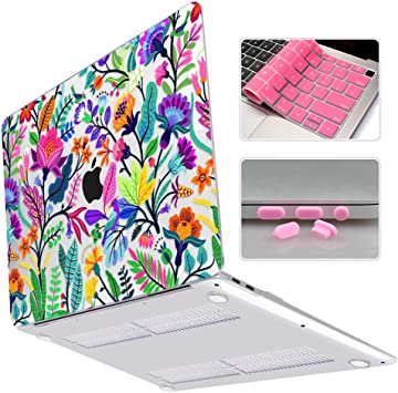 Soft Touch Plastic Hard Case for MacBook Air 13 inch Pro 13.3 15 inch Retina