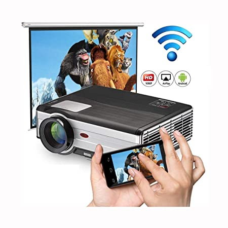 Ai LIFE Proyector Proyector inalámbrico Bluetooth WiFi Proyectores ...