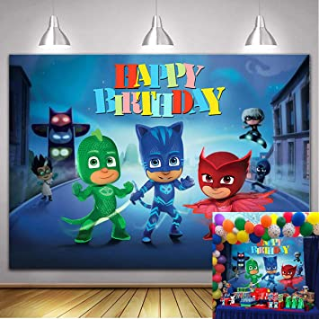 Amazon.com: Cartoon Super City Themed Photography Backdrop ...