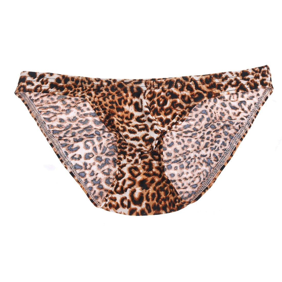 96ed8cf8a9 Amazon.com: YiZYiF Sexy Men's Underwear Leopard Print Bikini Swimwear  Panties: Clothing