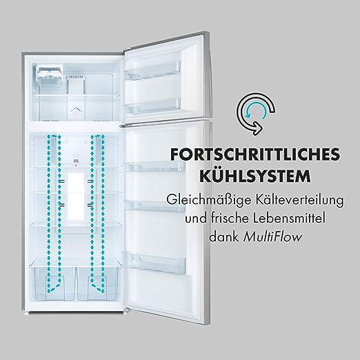 Frigorífico Klarstein Jumbo Cool, nevera y congelador 394 l ...