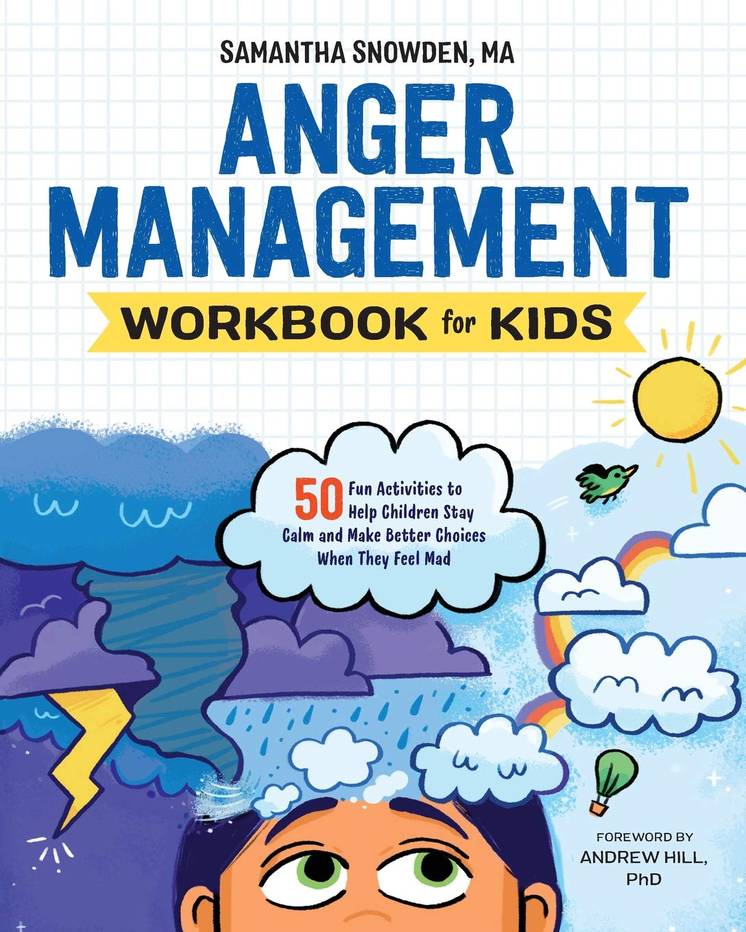 Anger Management Workbook Kids Activities product image