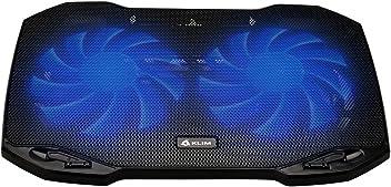 KLIM Pro - Refroidisseur pour Professionnel - Support PC Portable - Transportable - 10' à 15,6' - Extra port USB