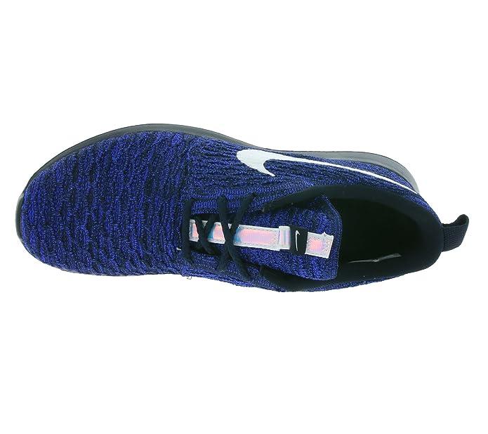 premium selection 65f58 2e6e3 Amazon.com   Nike WMNS Roshe NM Flyknit Women Sneaker Blue 843386 404,  Size 40   Road Running