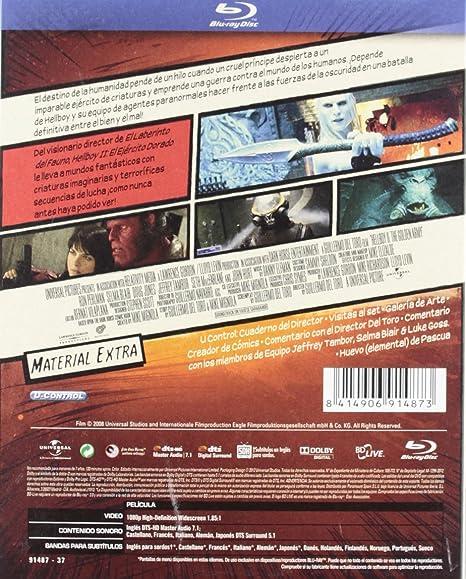 Hellboy 2-Edición Comic [Blu-ray]: Amazon.es: Perlman, Ron ...