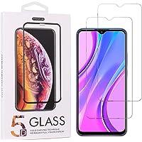 Teebo 2-Pack Mica Protector de Pantalla para Samsung Galaxy A20s, Vidrio Cristal Templado Protector Pantalla para Xiami…