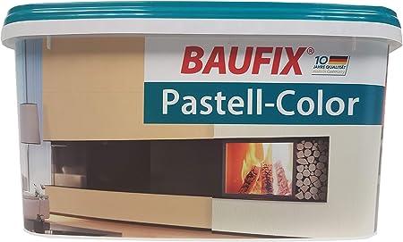 Peinture Mate Baufix 5 L Couleurs Pastel Pour Mur Et Plafond Nuance Au Choix