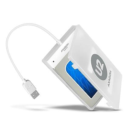 AXAGON - Carcasa para Disco Duro Externo (USB 2.0, para Discos ...