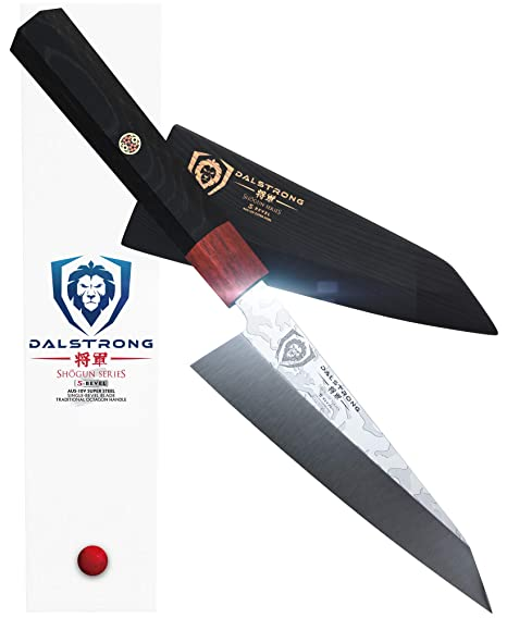 DALSTRONG - Honesuki Knife - Shogun Series S - Single Bevel Knives - Japanese AUS-10V Damascus - 5.5