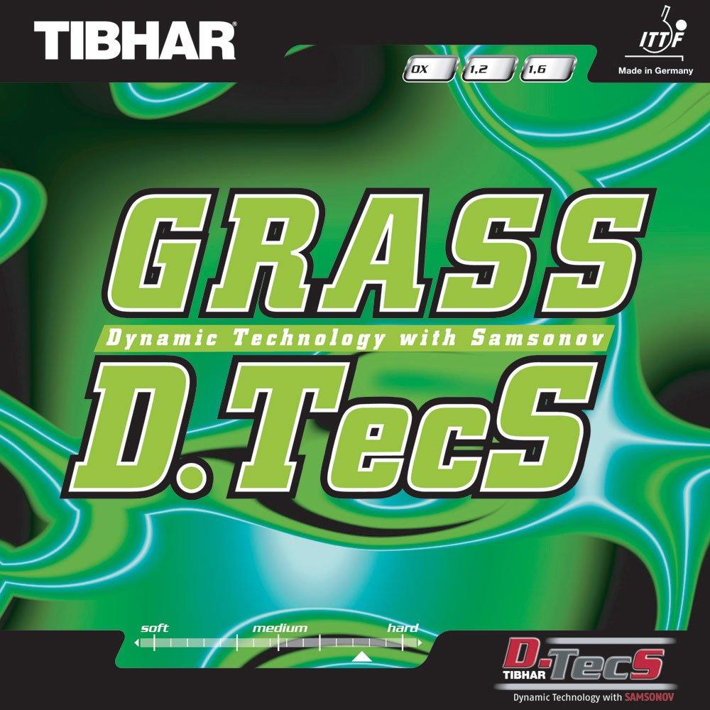 Tibhar Grass D。TecS , 1.2 MM ,レッド   B00B3UHC0W