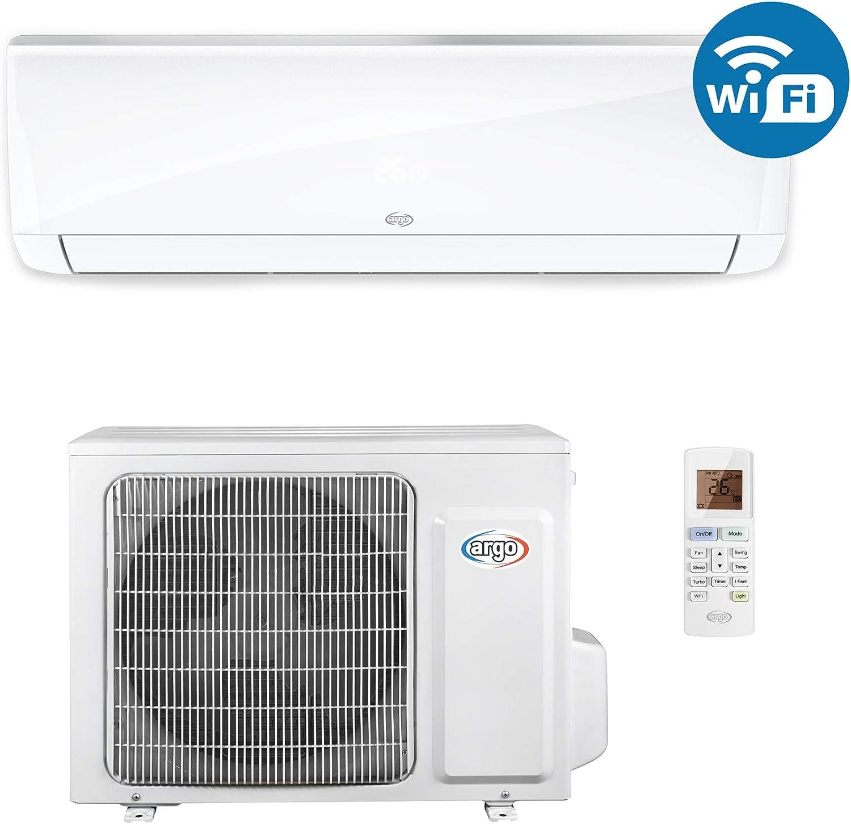 ARGO Ecowall 12 Climatizador fijo monosplit DC Inverter, con WiFi ...