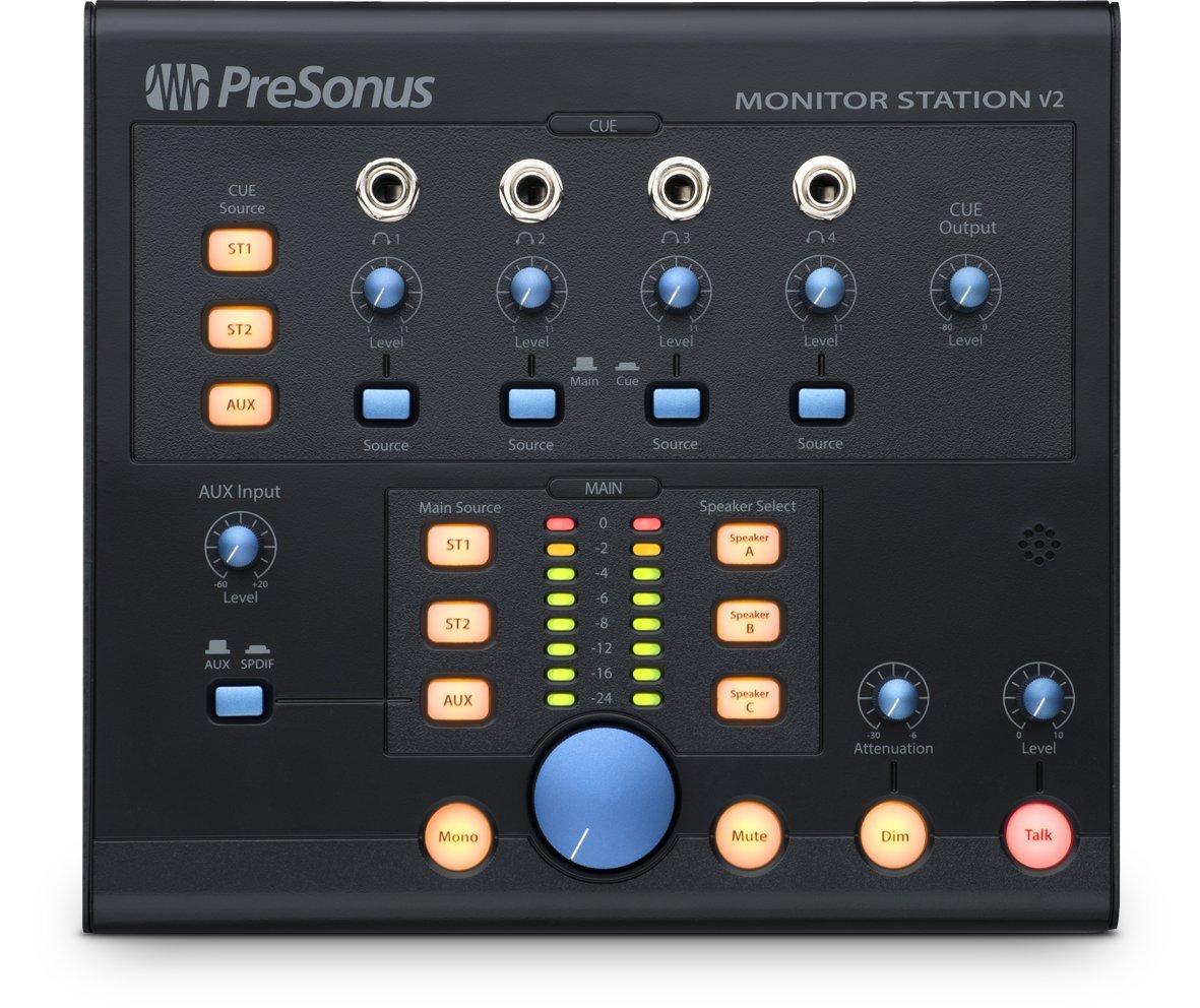 PreSonus MONITOR-STATION V2 Desktop Monitor System - New