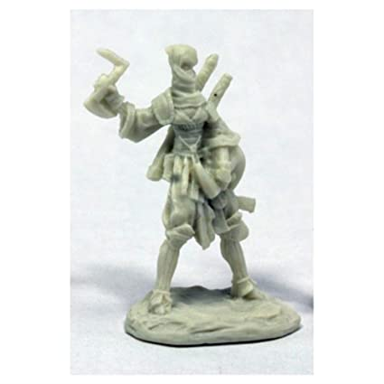 Amazon.com: Reaper Miniatures Reiko, Iconic Ninja #89036 ...