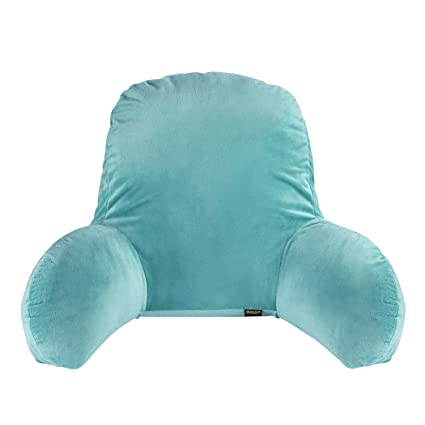 Lumbar Support Back Pillow Backrest Cushion Back Support Pillow With Arms For Couch Sofas Lounge Recliner With Zipper Removable Covers
