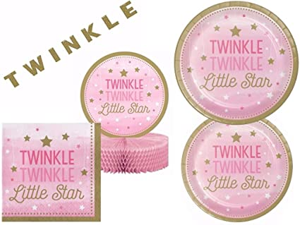 Amazon.com: Twinkle Twinkle Twinkle Little Star Rosa Baby ...