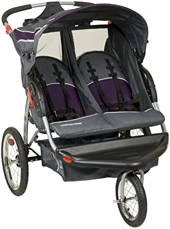 22e311f268e1d Amazon.com : Baby Trend Expedition Double Jogger, Elixer : Jogging Strollers  : Baby
